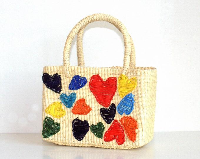 Baby Bag LOVE - Bolso paja Toquilla