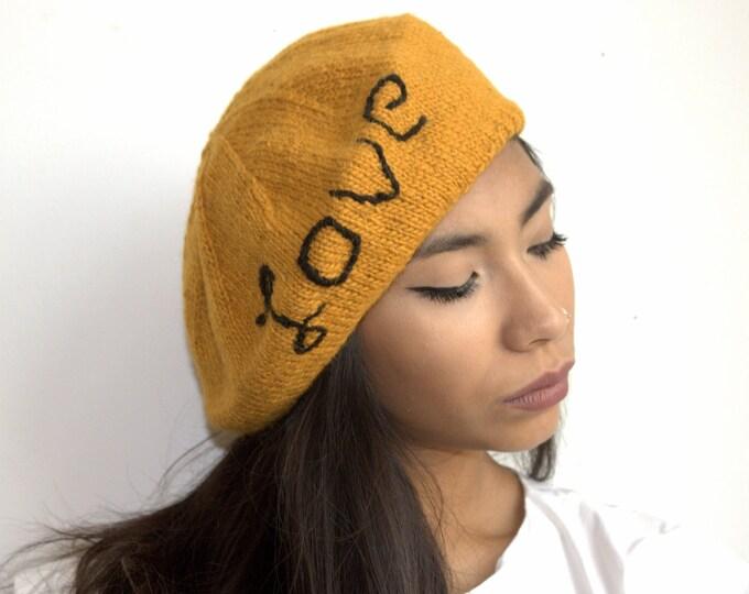 Boina LOVE, Boina 100% alpaca