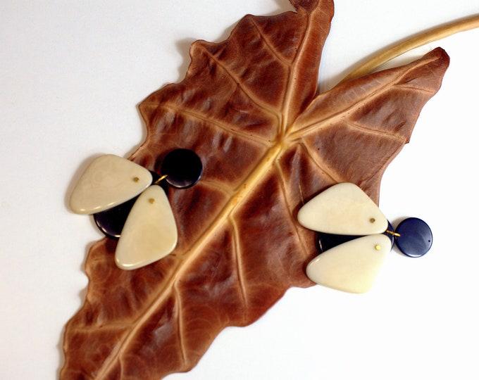 Bugs Tagua Earrings