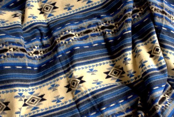 Manta Nativa en Azul