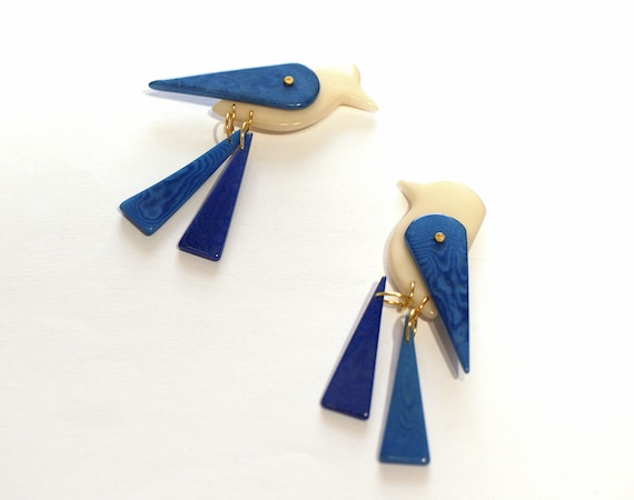 BIRD TAGUA EARRINGS