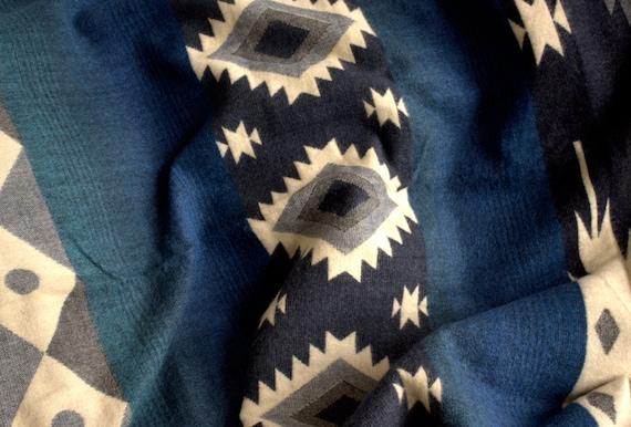 Manta Diseño en Tonos Azules