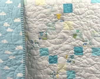 Patchwork Quilt for Sale, Handmade Baby Quilt, Quilt for Sale, Handmade Quilts for Sale, Homemade Patchwork Quilt, from QuiltieSisterS!