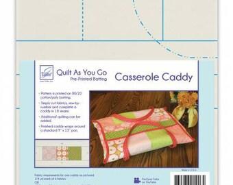 Quilt As You Go Casserole Caddy