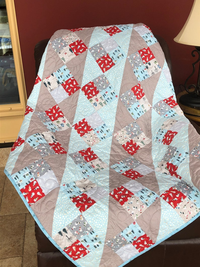Quilts for Sale Handmade Throw Blanket Home Decor Winter image 0