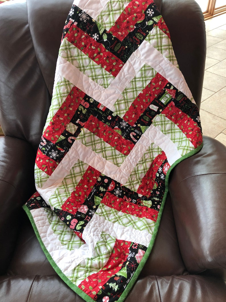 Christmas Lap Warmer Quilt From QuiltieSisterS image 0