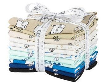 Whiskers & Tails Cats Fat Quarter Bundle, Cat Quilt Fabric , Fat Quarters, Fat quarter bundles, Fat quarter fabric