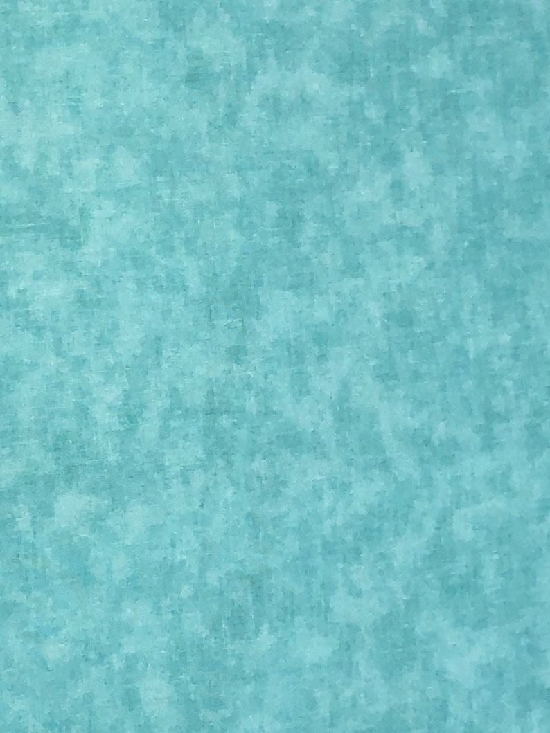 Light Aqua Texture Quilt Backing for perfect Logan Baby Quilt image 0