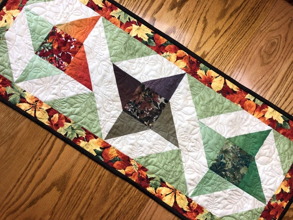 Cardinal Table Runner Brand New Complete kit Whims Watercolor Quilt Kit