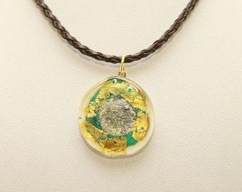 muranoglass pendant,lampwork glass,Murano glass pendant,chain pendant in Murano,necklace in Murano glass,chain pendant in glass,handmade