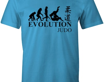 Evolution of Judo Cool Martial Arts Children's T-Shirt