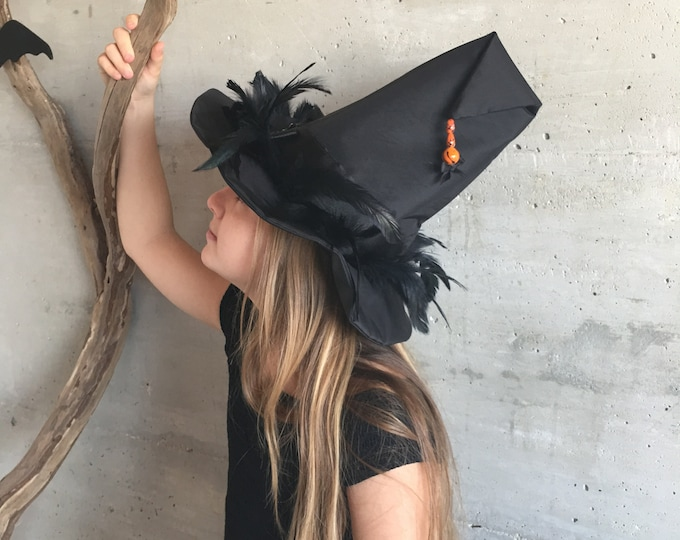 Witch hat feathers in madness