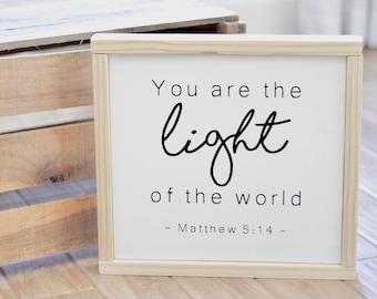 Best Seller! Light of the World - Matthew 5:14