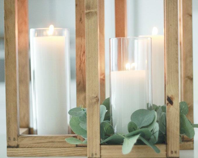 Featured listing image: NEW! Large Wood Lantern