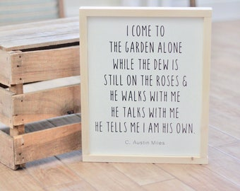 In The Garden - A Hymn