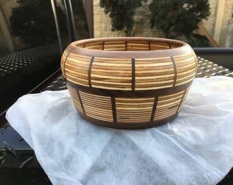 Food Safe Finish - Walnut & Baltic Birch Ply Bowl