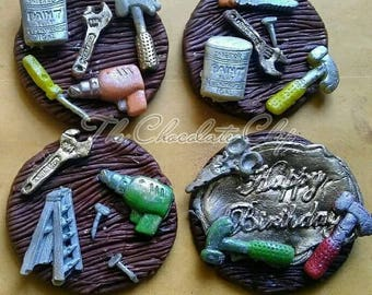 Edible Handy man toppers