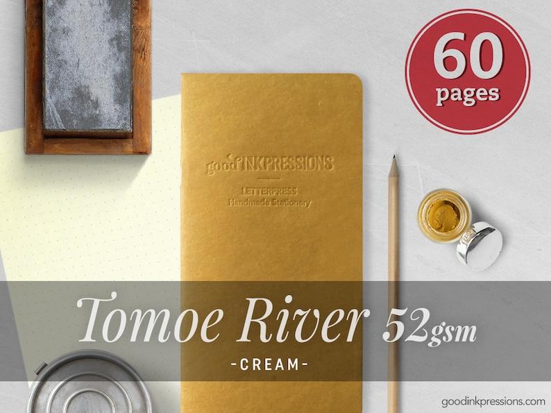 Tomoe River Cream 52gsm Traveler's Notebook  12 kraft image 0