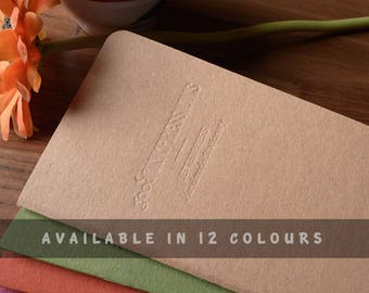 SPLENDORGEL Pure WHITE Paper, Fountain Pen Friendly Notebook in multiple sizes and styles.