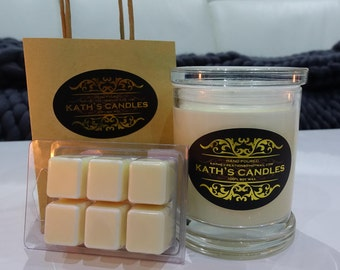 Candle & Melt Combo - 100% Soy Wax - Hand poured - Australian Made