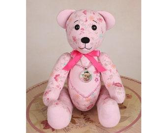 picture relating to Teddy Bear Sewing Pattern Free Printable identified as Memory undertake behavior Etsy