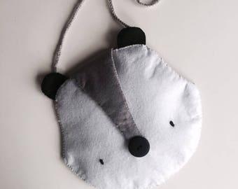 Raccoon raccoon bag / Bolso mapache