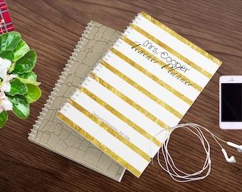 Teacher Planner 2018-2019 - Teacher Planners - Lesson Planner - Teacher Plan Book - Personalized Teacher Planner  - Teacher Planners 2018