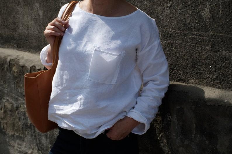 linen blouse KOKURO