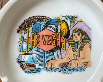 "Vintage Las Vegas ""Eve's Butts"" Ashtray / Ring Dish, Jewelry, Watch Holder, Soap Dish, Trinket Dish"