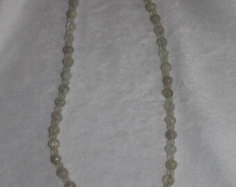 18 inch Rutilated Quartz Necklace