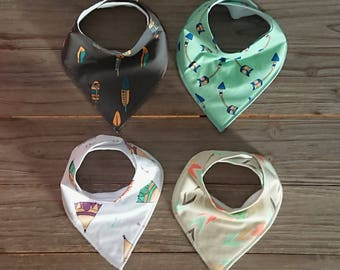 Baby Bib - Bandana Bib - Teething Bib - Dribble Bibs - Drool Bib – Baby Bib Set - Baby Shower Gift Set
