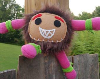 Stuffed monster, stuffed animal, Kakamora, Moana, Moana plush, plushie, Kakamora stuffed monster, Disney Moana