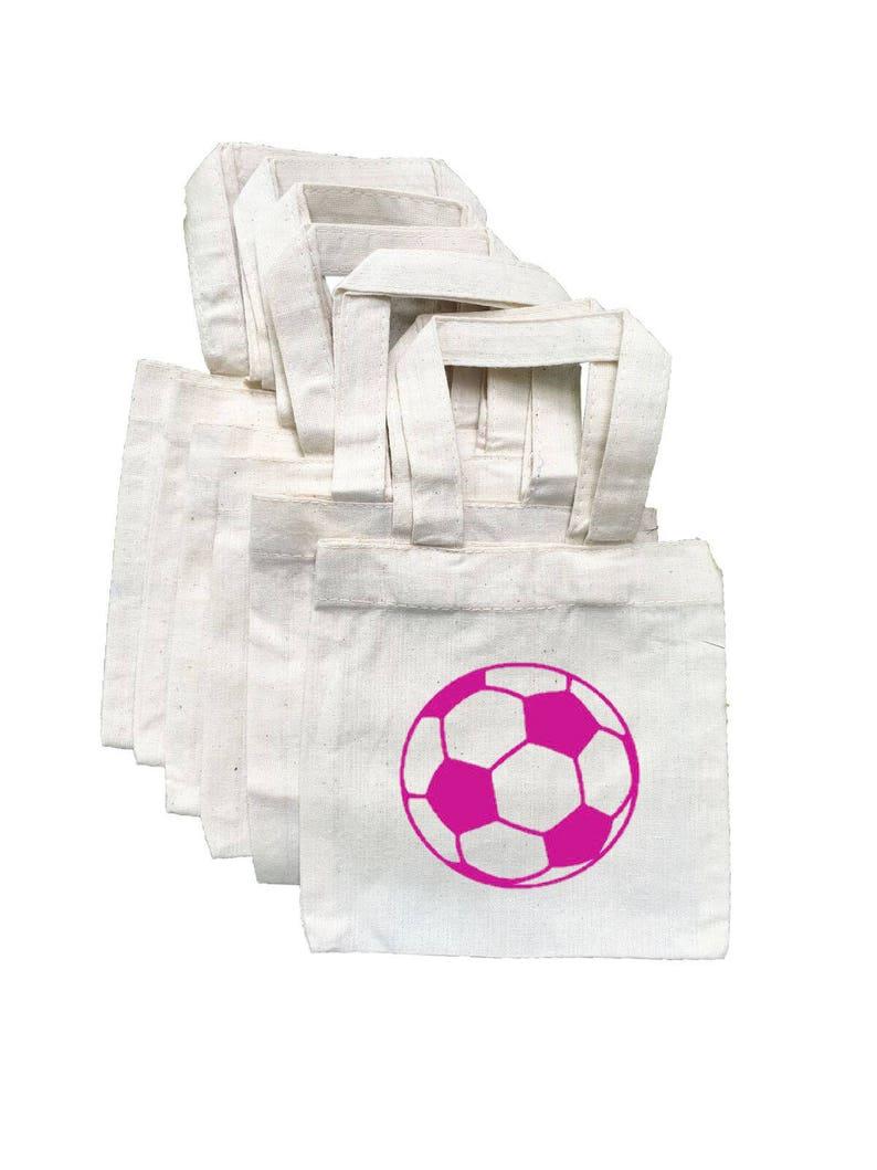 9ecb0fff80f056 Piłka nożna Treat torby dziewczyny Soccer party piłka nożna | Etsy