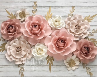 Paper Flowers Etsy