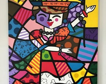Reproduction Romero Britto