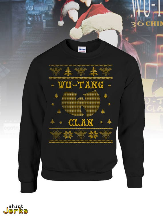 Ugly Wu Tang Christmas Sweater Wutang Clan Hip Hop Gift 36 Etsy