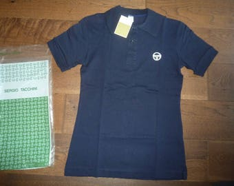 c13d9e085fd8 Vintage OG BNWT NOS Sergio Tacchini Supermac Mods Tennis Shirt Polo 1980s  Casuals S