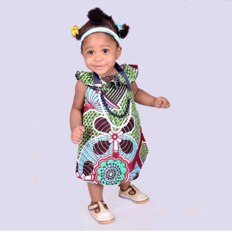 b4f47408e97ac Ankara toddler dress/ ankara girl dress/ girls party dress / | Etsy