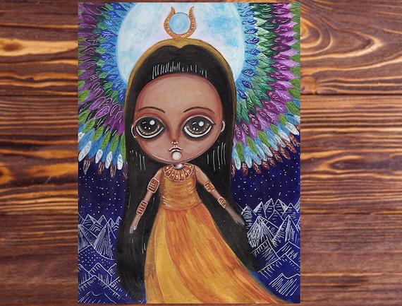 Fantasy Art Isis