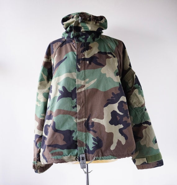 Camouflage Oversized Jacket Overcoat