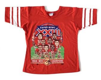 1988 San Francisco 49ers Single Stitch Tee