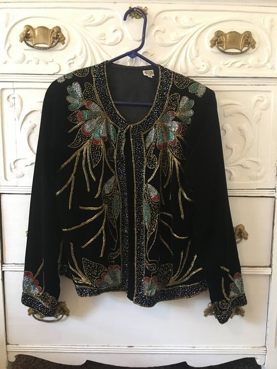 Beautiful Beaded Jacket