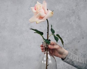 Faux Pale Pink Rose