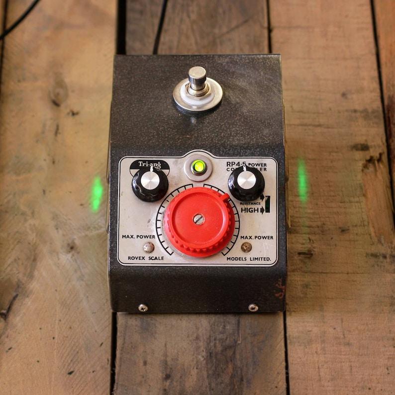 Guitar Overdrive pedal - Trainscreamer - tube screamer boutique