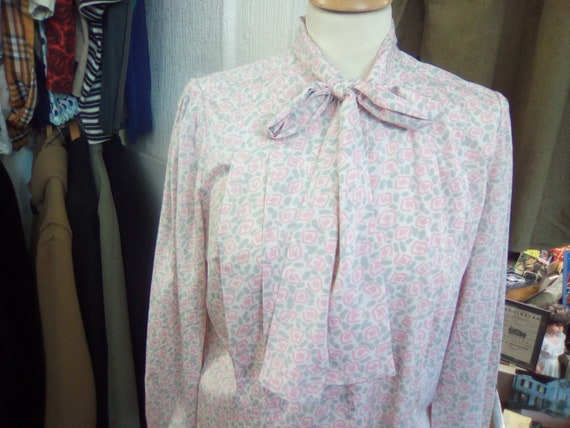 Vintage Blouse, 80s Ladies House Of Fraser Blouse