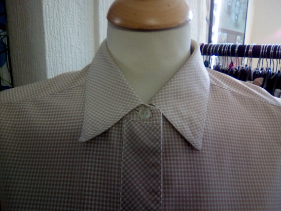 small Ladies Vintage 1960/'s Mint Green Jumper Dress and Peter Pan Collar Blouse Ensemble