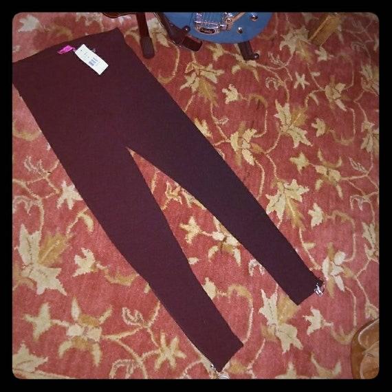 NWT Vintage Betsey Johnson Black knit Sexy Zipper… - image 2