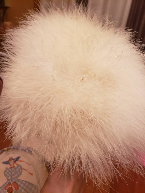 Marabou Feather hat