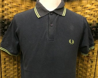 48ed7e706 Vintage FRED PERRY   Made in England   Medium size polo shirt (TP21)