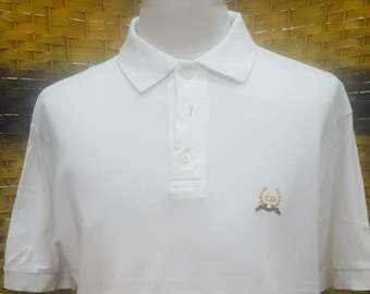 Vintage CHRISTIAN DIOR MONSiEUR / made in Italy / polo shirt / Medium size